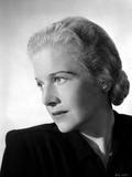 Ann Harding Looking Sad wearing Black Blouse in Portrait Photo by  Movie Star News