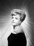 Angela Lansbury on an Off-Shoulder Dress and posed Photo by  Movie Star News