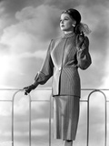Ann Sheridan wearing a Tunic Dress Photo by  Movie Star News