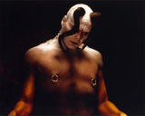 Vincent D'onofrio in Demon Outfit Black Background Portrait Photo by  Movie Star News