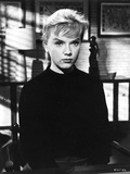 Anne Francis sitting in Classic Portrait Photo by  Movie Star News