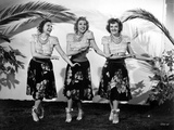 Andrew Sisters on Skirt Dancing Photo by  Movie Star News