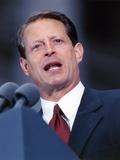 Al Gore Delivering a Speech wearing a Black Suit and A Red Tie Photo by  Movie Star News