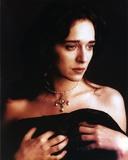 Valeria Golino Posed in Black Cloth Photo by  Movie Star News