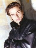 Antonio Sabato Jr wearing Black Jacket Foto af  Movie Star News