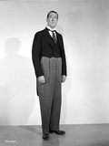 Arthur Treacher posed in Black Suit Photo by  Movie Star News