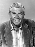 Andy Griffith Posed in Police Officer Photo by  Movie Star News
