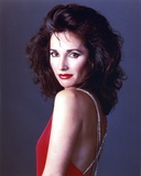 Susan Lucci posed in Red Sleeveless Photo by  Movie Star News