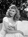 Anna Neagle on a Dress and sitting Photo by  Movie Star News
