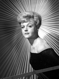 Angela Lansbury on a Dress standing and posed Photo by  Movie Star News