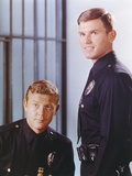 Adam-12 posed with Police Officer Uniform Near a Cell in a Movie Scene Photo by  Movie Star News