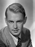 Alan Ladd Posed in Suit, smiling in Close Up Portrait Photo by  Movie Star News