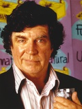 Alan Bates Posed in Black Suit Photo by  Movie Star News