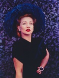 Ann Sothern standing Pose in Black Dress Portrait Foto af  Movie Star News