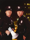 Adam-12 Holding Megaphone in Police Uniform Photo by  Movie Star News