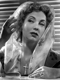 Ann Sothern wearing a Veil with a Floral Design Photo af Movie Star News