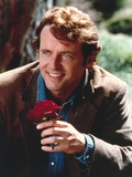 Aidan Quinn in Formal Outfit With Rose Portrait Photo by  Movie Star News
