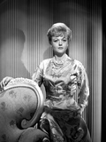 Angela Lansbury on a Silk Dress and posed Photo by  Movie Star News