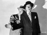 Abbott & Costello Scared with Cigar on Mouth Photo by  Movie Star News