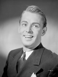 Alan Ladd Giving a Big Smile wearing a Suit Photo by  Movie Star News