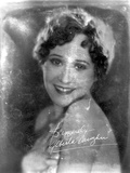 Alberta Vaughn Portrait in Classic Photo by  Movie Star News