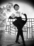Anna Neagle Dancing and wearing a Black and White Dress Photo by  Movie Star News