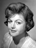 Angela Lansbury smiling and Looking Away wearing a Checkered Dress Photo by  Movie Star News