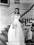Ann Gillis on a Gown standing Portrait Photo by  Movie Star News