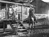A scene from The Oklahoma Kid. Photo by  Movie Star News