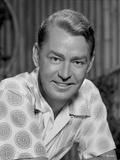 Alan Ladd smiling, wearing White Polo Close Up Portrait Photo by  Movie Star News