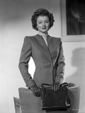 Myrna Loy in Formal Attire Photo by Gaston Longet