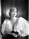 Ann Sothern wearing a Big Cap Sleeve Dress Photo by  Movie Star News