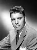 Burt Lancaster wearing Suit and Tie with Handkerchief on Pocket Photo by  Movie Star News