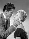 Behave Yourself Man in Suit Ready to Kiss the Woman in Black Dress Photo by  Movie Star News