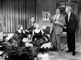 Book Bell Movie Cast Members in Living Room Scene Excerpt from Film Photo by  Movie Star News