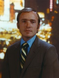 Dick Cavett Portrait in Brown Coat Photo by  Movie Star News