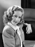 Bonita Granville on a Blazer Portrait Photo by  Movie Star News