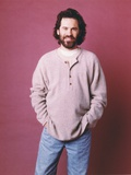 Dennis Miller Posed in Sweater Portrait Photo by  Movie Star News