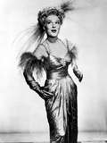 Betty Hutton on a Silk Dress and Happy Photo by  Movie Star News
