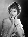 Corrinne Griffith on a See Through Sleeve with Worried Expression Photo by  Movie Star News