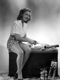 Bonita Granville on Polo Top sitting Portrait Photo by  Movie Star News