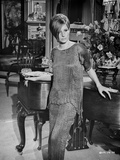 Barbra Streisand Posed In Simple Dress Photo by  Movie Star News
