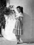Ann Rutherford Leaning on the Wall while Facing to the Camera Photo by  Movie Star News