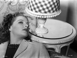 Ann Sheridan Leaning on the Chair Near a Lamp Shade Photo by  Movie Star News