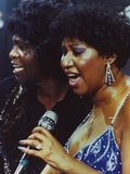 Aretha Franklin Duet Portrait Photo by  Movie Star News
