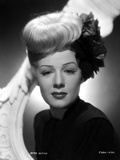 Betty Hutton on a Dark Turtle Neck Top Portrait Photo by  Movie Star News