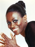 Cicley Tyson Portrait in Black Dress Photo by  Movie Star News