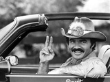 Burt Reynolds Posed in Cowboy Attire With Peace Symbol Photo by  Movie Star News