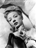Betty Hutton Lying on a Couch with Flower Photo by  Movie Star News