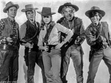 Cat Ballou Group Picture with Gun Photo by  Movie Star News